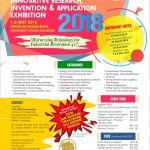 Innovative Research, Invention and Aplication Exhibition (I-RIA) 2018
